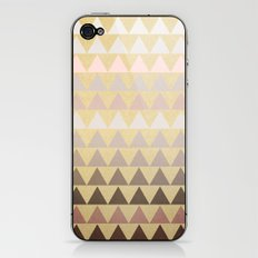 Muted Triangles iPhone & iPod Skin