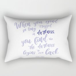 A court of mist and fury (purple) Rectangular Pillow