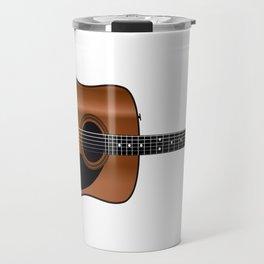 Acoustic Guitar Travel Mug