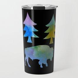 bison / buffalo Travel Mug