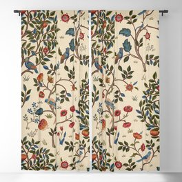 "William Morris ""Kelmscott Tree"" 1. Blackout Curtain"