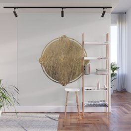 Gold Squircle Wall Mural