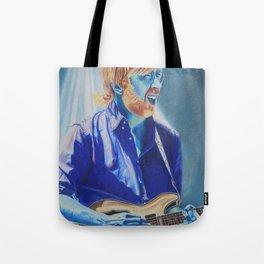 Trey Anastasio in Blue Tote Bag