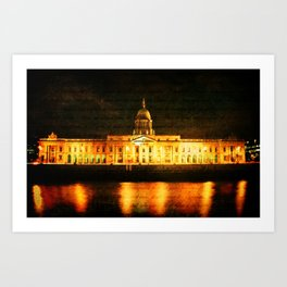 The Custom House Art Print