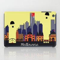 melbourne iPad Cases featuring Lovely Melbourne by Jollybird Designs