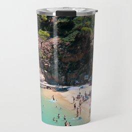 Costa Brava Beach Travel Mug