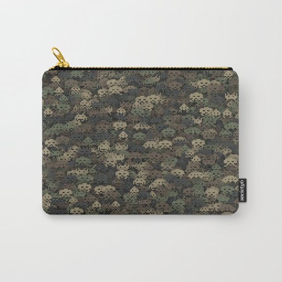 Invaders camouflage Carry-All Pouch