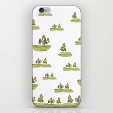 Varigated pine forest iPhone & iPod Skin