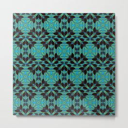 Leaf pattern 1a Metal Print