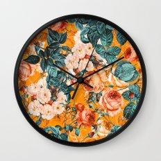 SUMMER GARDEN III Wall Clock