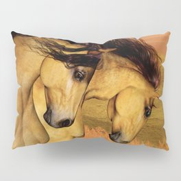 HORSES - The Buckskins Pillow Sham