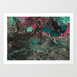 Abstract Art Work Art Print