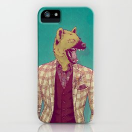 Elwood the Hyena iPhone Case