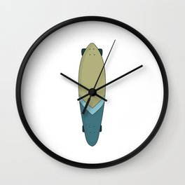 Longboard Wall Clock
