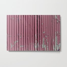 Urban Red Metal Print