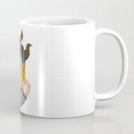 Viking At The Gym   Training Fitness Muscles Power Coffee Mug