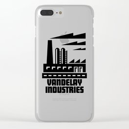 Vandelay Industries Clear iPhone Case