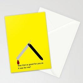 Mr. Blonde  Stationery Cards