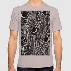 Eyes (Insomnia) SMALL Cinder Mens Fitted Tee