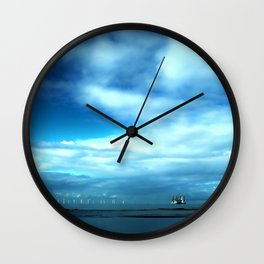 Off to Sea Wall Clock