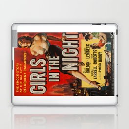 Girls in the Night, vintage movie poster Laptop & iPad Skin