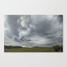 Landscape Photography | Waterton, Alberta | Clouds | Sunset Canvas Print