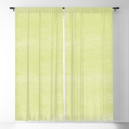 Chalky background - yellow Blackout Curtain