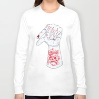 dick Long Sleeve T-shirts featuring Tiny Dick by scoobtoobins