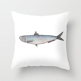 Sardine: Fish of Portgual Throw Pillow