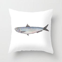 Sardine: Fish of Portgual Throw Pillow
