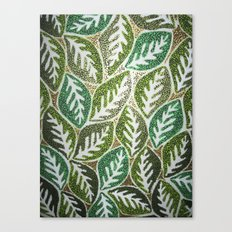 Leaves 3 Canvas Print