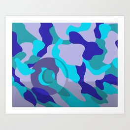 O can u c me Art Print