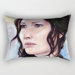 Katniss Everdeen Rectangular Pillow