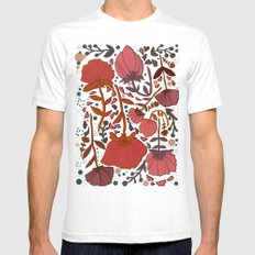 Nature number 2. SMALL Mens Fitted Tee White