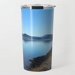 Whale Fjord Travel Mug