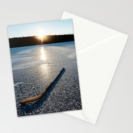 Ice Time Stationery Cards