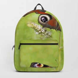The European peacock butterfly Backpack