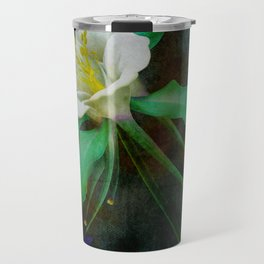 flower cb Travel Mug