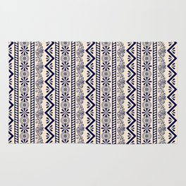 pattern art curtain Rug