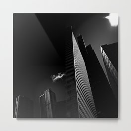 the black building theory - part two Metal Print