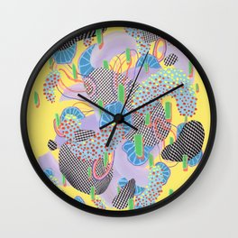 Alien Organism 4 Wall Clock