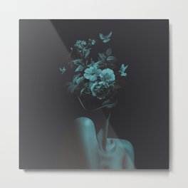 Dead Flowers (Recolor) Metal Print