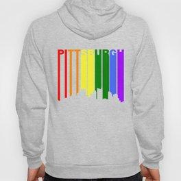 Pittsburgh Pennsylvania Gay Pride Skyline Hoody