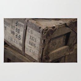Antique Crates Rug