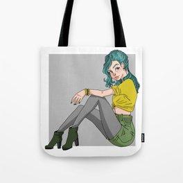 Grunge Chic Tote Bag