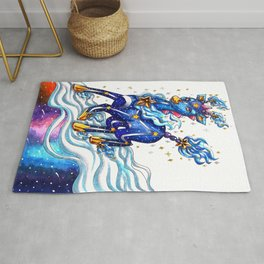Muse of the stars Rug