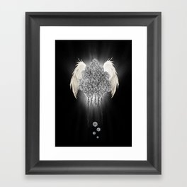 Angel of the chaos Framed Art Print