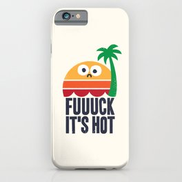 Heated Rhetoric iPhone Case