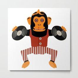 Da Monkey Metal Print