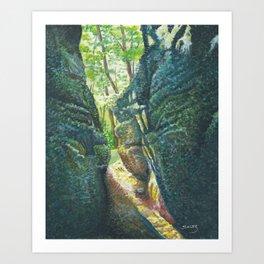 The Ledges Art Print